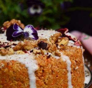 Healthy Dreams: ciasto marchewkowe z nutą kokosa (raw)