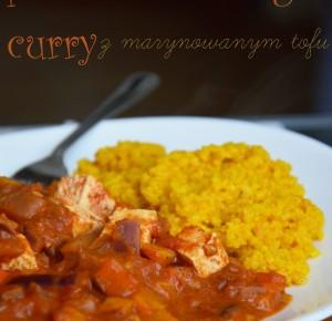 pomidorowe vege curry z marynowanym tofu - Healthy Dreams