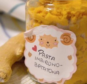 Healthy Dreams: Wegańska pasta imbirowo-batatowa