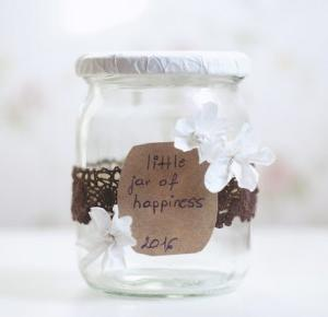 palms and deer: LITTLE JAR OF HAPPINESS  XX DIY XX NEW YEAR