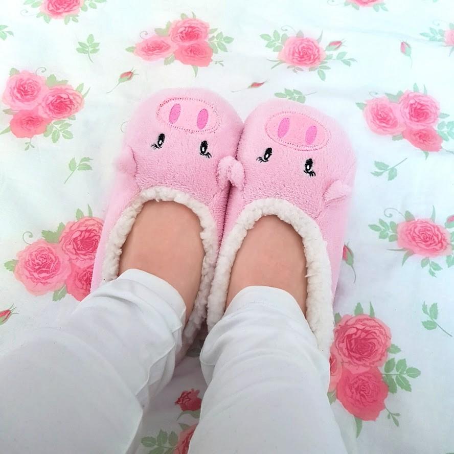 🌺 różowe kapcie świnki 🐽Rossmann | DressCloud.pl 🌺