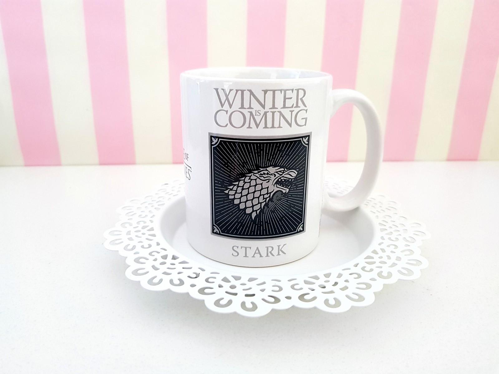 Kubek Gra o Tron - Winter is Coming, Stark