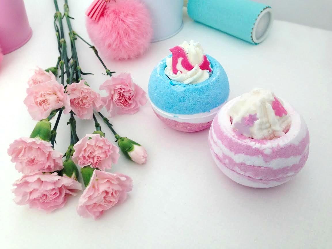 🌸 musujące kule do kąpieli 💙 Bomb Cosmetics 🌸