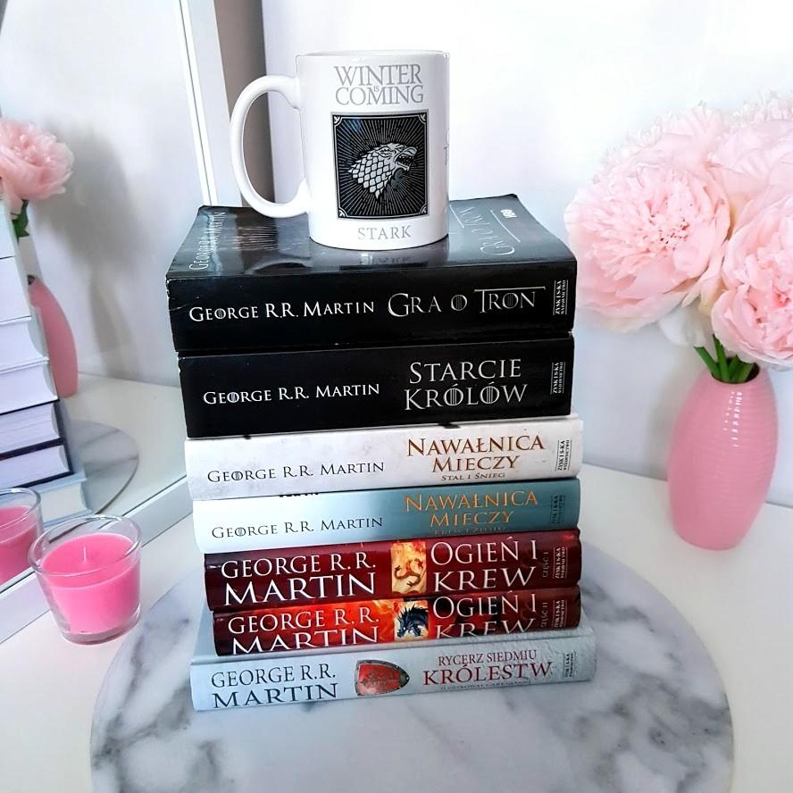 📖 książki George R.R. Martin, Pieśń Lodu i Ognia, Gra o Tron 📖 | DressCloud.pl