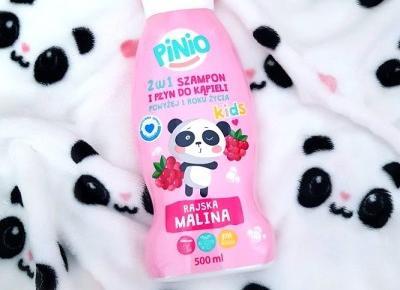 🌸 rajska malina 🌸 🐼 2w1 - szampon i płyn do kąpieli 🌸 Pinio 🐼