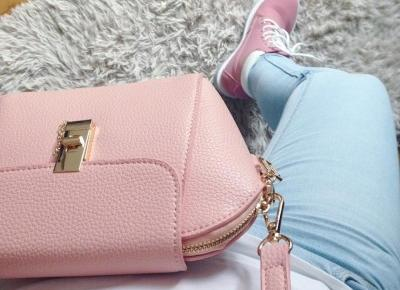 "Justyna 🎀 on Instagram: ""💖💖💖 #details #girly #cute #bag #pinkbag #powderpink #pinkshoes #girlystuff #beautiful #sweet #style #fashion #look #love #loveit #girl…"""