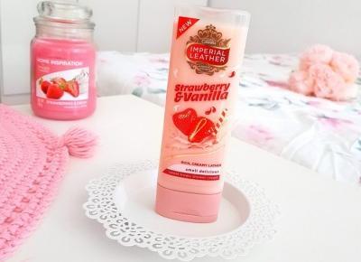 🍓 Imperial Leather - Żel pod prysznic, Strawberry & Vanilla 💛 | Opinia, realne zdjęcie
