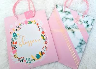 🌸 Pastelowe torebki na prezenty 🌸
