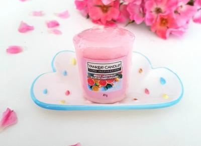 pastelowyblog.pl: Bright Grapefruit - sampler od Yankee Candle z serii Home Inspiration
