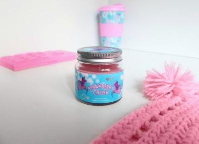 🦄🍓 Strawberry crush 🍓🦄 świeczka zapachowa z Primarka 🍓🦄