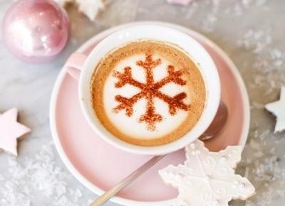 🌸❄️ snowflake coffee ❄️🌸