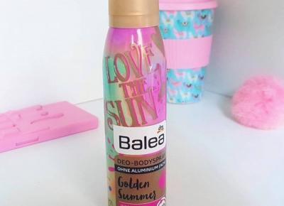🍏 Golden Summer 💛 owocowy dezodorant od Balea 🌸