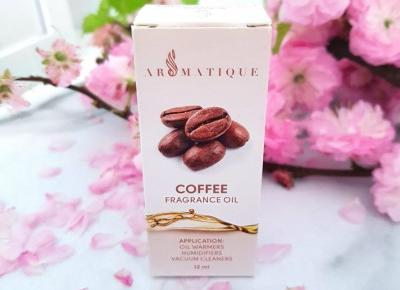 Olejek zapachowy Coffee - kawa | Aromatique | Recenzja