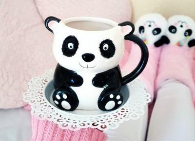🐼🌸 Kubek PANDA 🌸🐼