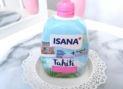 💙 mydlo w płynie 💙 Tahiti 💙 kokos i liczi 🥥💖 Isana 💙