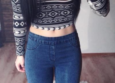 Jusstinkaa : Jeansy - spodnie, które zawsze będą modne