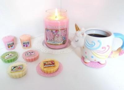 Jusstinkaa : Yankee Candle - Snowflake Cookie, świeca zapachowa
