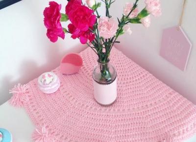 Jusstinkaa : Syreni ogon, różowy kocyk, narzutka, futerko i sweterek od Sammydress