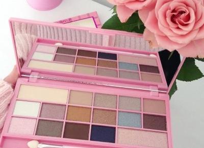 🌺 Makeup Revolution - Paleta cieni do powiek, Czekoladka, Pink Fizz 🌺 | DressCloud