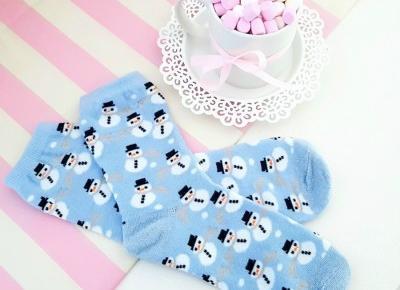 💙 ☃️ cute winter socks ☃️💙