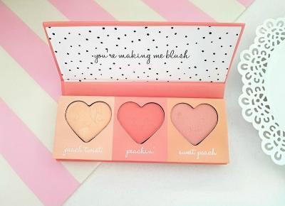 Jusstinkaa : PRIMARK - paletki Just Peachy & Cheeky Peachy