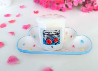 💙🥥 Pomegranate Coconut - sampler od Yankee Candle 🥥💙