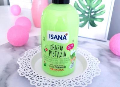 Isana - Żel pod prysznic, Grazia Pistazia