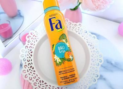 Fa - Antyperspirant w sprayu, Bali Kiss - mango & wanilia