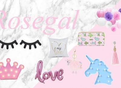 Jusstinkaa : Dodatki do domu i akcesoria z Rosegal