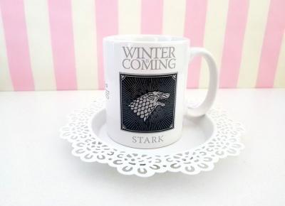 🐺 Kubek Gra o Tron 🐺 Winter is Coming, Stark 🐺