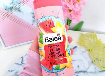 Balea - Żel pod prysznic, Stern Frucht & Melone, karambola & melon