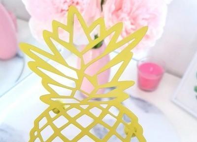 🍍 Podstawka w kształcie ananasa 🍍