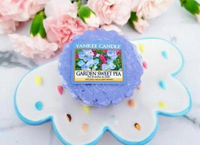 Garden Sweet Pea, Wosk zapachowy, Yankee Candle