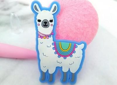 🌸 lama 💙 długopis 💛