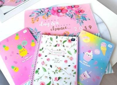🌸 zapachowe zeszyty 💛 kalendarz 🌸 Biedronka 🌸