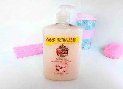 💛🌸 Cherry blossom & vanilla - Imperial Leather 🌸💛 mydło w płynie 🌸