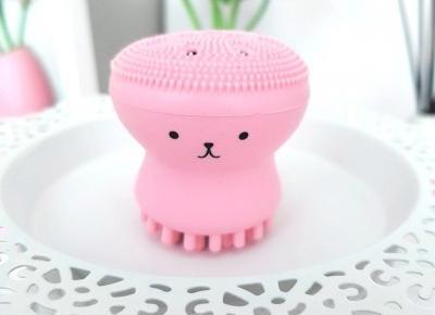 🌸 szczoteczka do mycia twarzy 🌸 ośmiorniczka 🌸