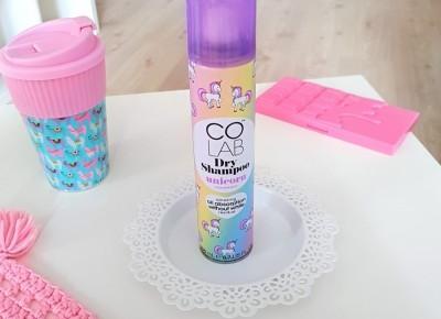 🌸 Colab - Suchy szampon do włosów 🦄 Unicorn 🦄 | Opinia, realne zdjęcie