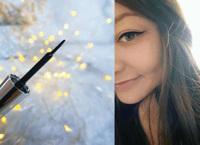 pastelowyblog.pl: Lovely - Glossy, Ultraczarny eyeliner o wysokim połysku.