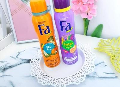 Fa - Antyperspirant w sprayu, Brazilian Vibes, Ipanema Nights, Dezodorant w sprayu, Island Vibes, Bali Kiss
