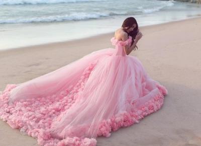 🌸👑🌸 pink dress 🌸👑🌸