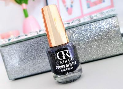 CR Cairuo - Focus Glitter, Lakier do paznokci