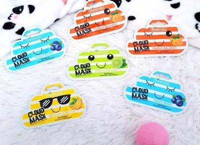 🌸 Cloud Mask ☁️ maseczki do twarzy - Bielenda 💛