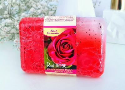 Vital Cosmetics - Mydło w kostce, Różane, Red Rose