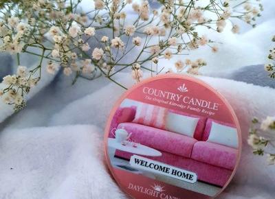 pastelowyblog.pl: Welcome Home, daylight, świeczka zapachowa - Country Candle