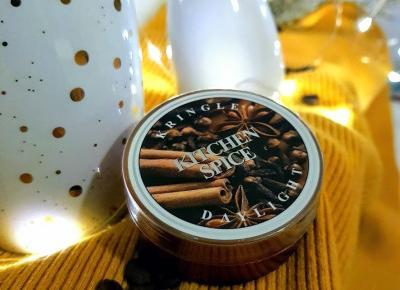 Kringle Candle, świeczka zapachowa, daylight - Kitchen Spice.
