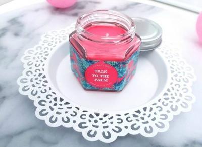🌸🌴 Talk to the palm 🌴 świeczka zapachowa 🌸 Primark 🌸🌴