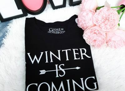 Winter is Coming, Gra o Tron, t-shirt - Sinsay