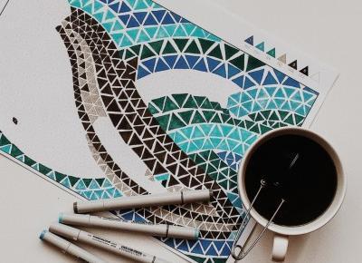 Co to są kolorowanki dla dorosłych? | pani designer