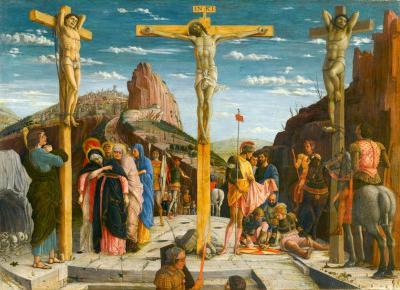 Analiza obrazu Andrea Mantegny – Crucifixion | pani designer